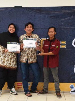 Juara 1 Kontes Robotic UIN Sunan G. Jati Bandung