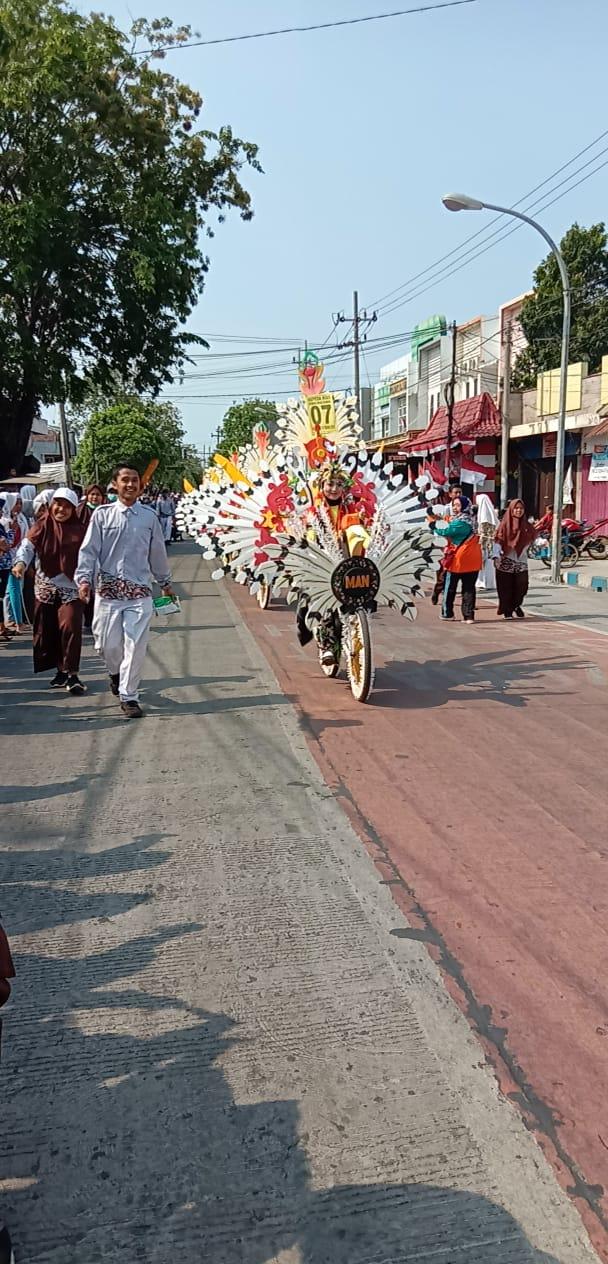 Sepeda Hias MAN Kota Pasuruan 2019